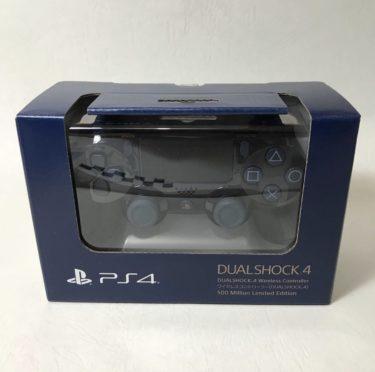 PS4 コントローラ DS4 ワイヤレスコントローラー(DUALSHOCK 4) 500 Million Limited Edition 【純正】【限定モデル】