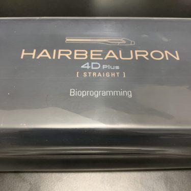 【しっとり】ヘアビューロン  4D plus 開封 レビュー